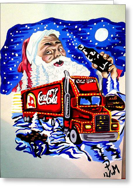 Holiday's Are Coming... Greeting Card by Pauline Murphy