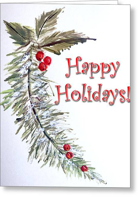 Holidays Card - 3 Greeting Card