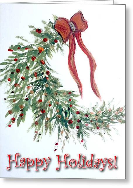 Holidays Card - 4 Greeting Card