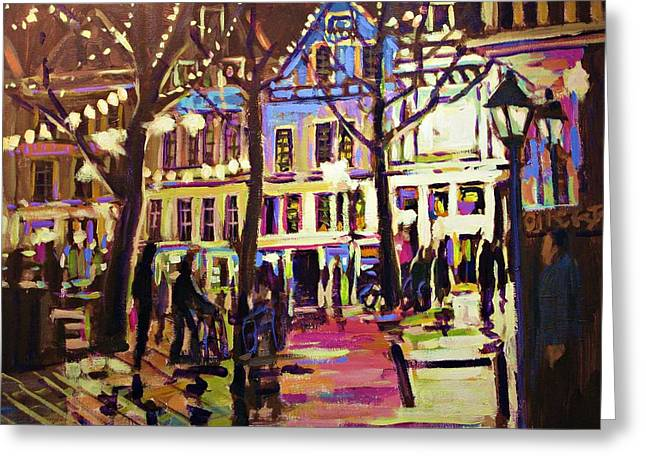 Holland Nights Greeting Card by Brian Simons