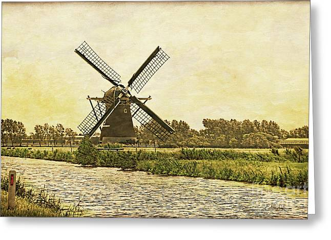 Holland - Windmill Greeting Card