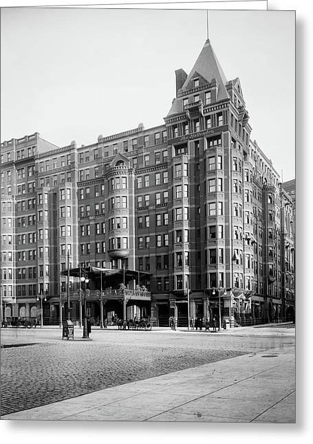 Hollenden Hotel Cleveland 1903 Greeting Card by L O C