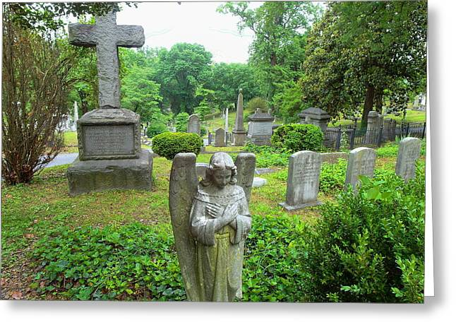 Hollywood Cemetery Greeting Card