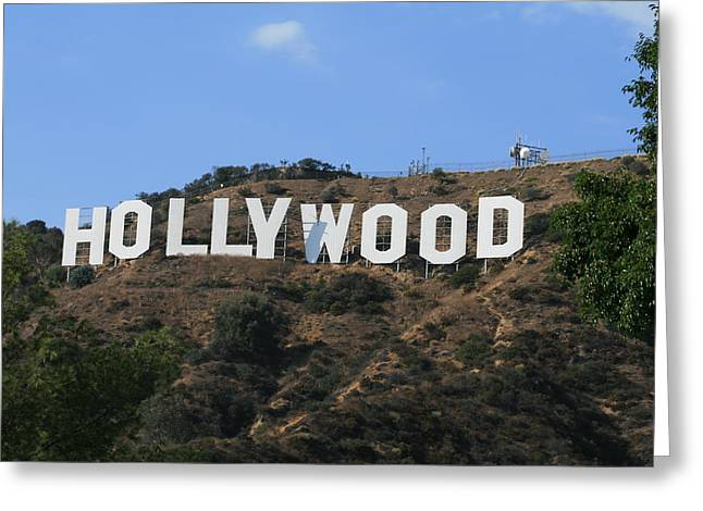 Hollywood Greeting Card by Marna Edwards Flavell