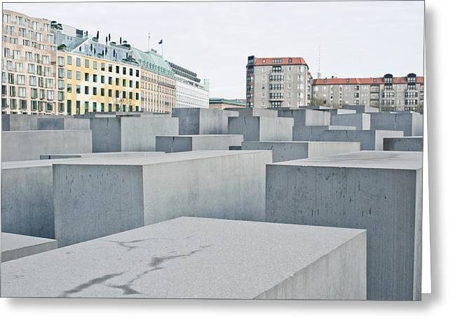 Holocaust Memorial Greeting Card by Tom Gowanlock