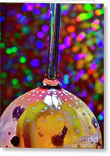 Holographic Fruit Drop Greeting Card