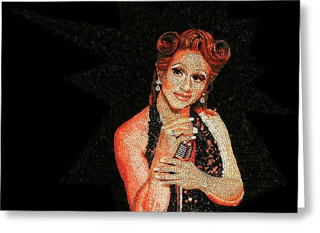 Drag Mixed Media Greeting Cards - Holotta Tymes Greeting Card by Michael Kruzich