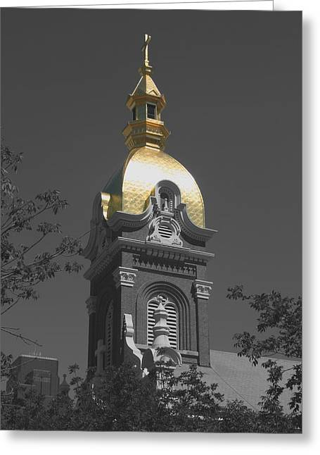 Holy Church Of The Immaculate Conception - Colorized Greeting Card