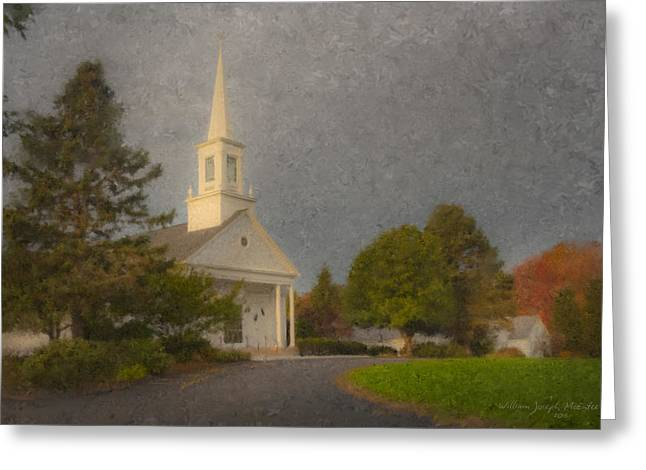 Holy Cross Parish Church Greeting Card
