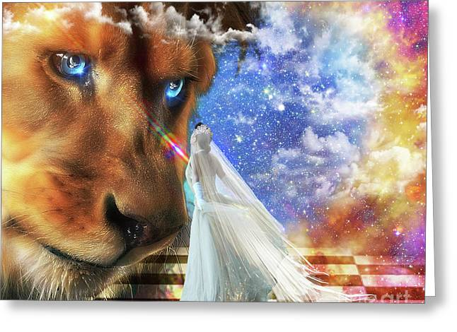 Divine Perspective Greeting Card