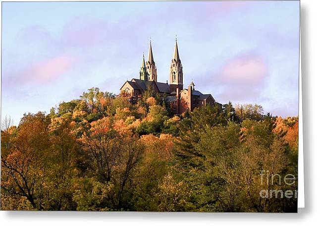 Holy Hill Basilica, National Shrine Of Mary Greeting Card