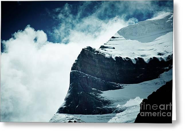 Holy Kailas West Slop Himalayas Tibet Artmif.lv Greeting Card