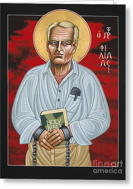 Holy Prophet Philip Berrigan 125 Greeting Card
