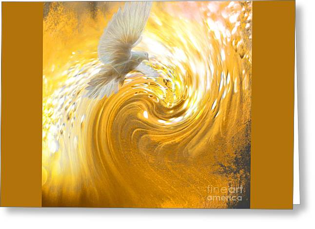 Holy Spirit Come Greeting Card