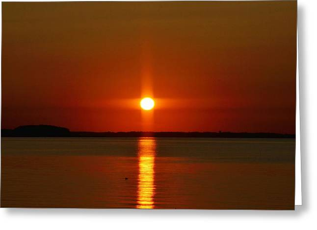 Holy Sunset Greeting Card