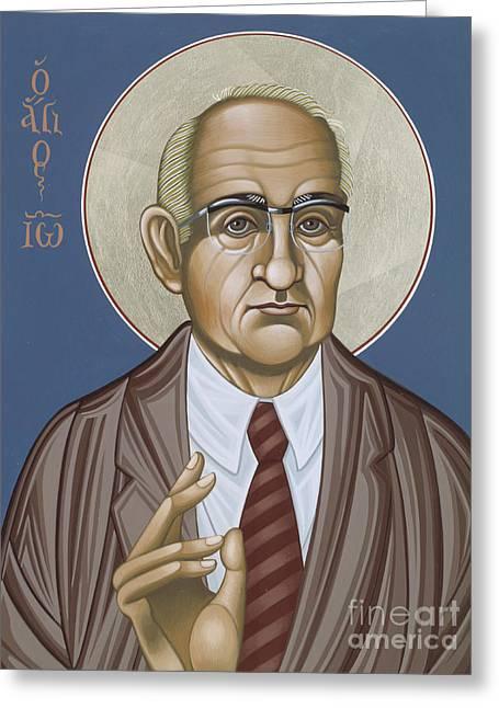 Holy Theologian Hans Urs Von Balthasar 110 Greeting Card