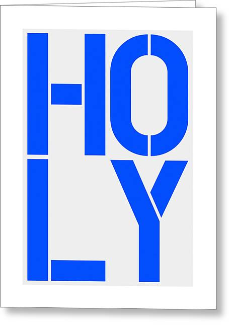 Holy Greeting Card by Three Dots