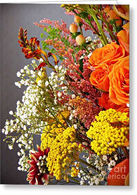 Holy Week Flowers 2017 2 Greeting Card