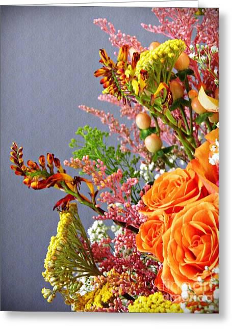 Holy Week Flowers 2017 3 Greeting Card