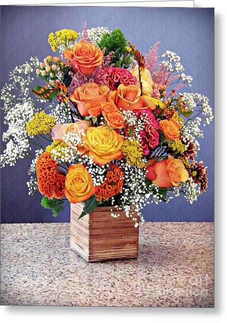 Holy Week Flowers 2017 Greeting Card