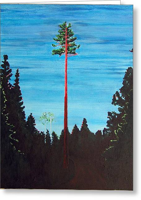 Homage To Emily Carr Greeting Card
