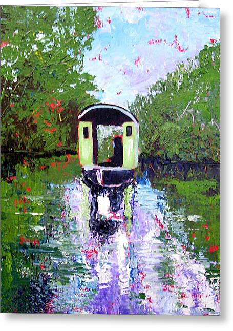 Homage To Monet Greeting Card by Paul Sandilands