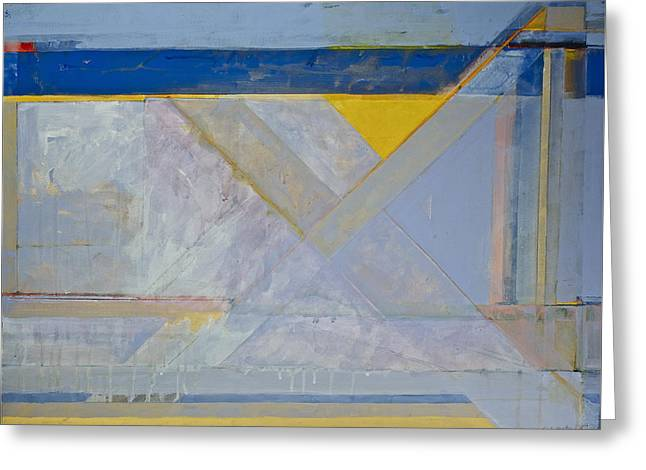 Homage To Richard Diebenkorn's Ocean Park Series  Greeting Card