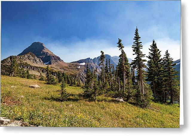Greeting Card featuring the photograph Homage To The Mountains  by Lon Dittrick