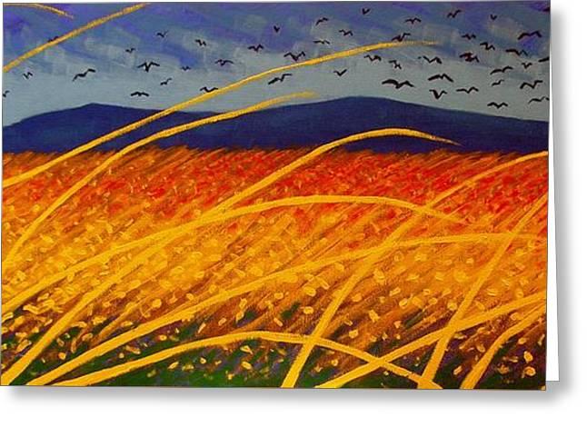 Homage To Van Gogh Greeting Card