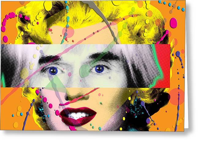 Homage To Warhol Greeting Card