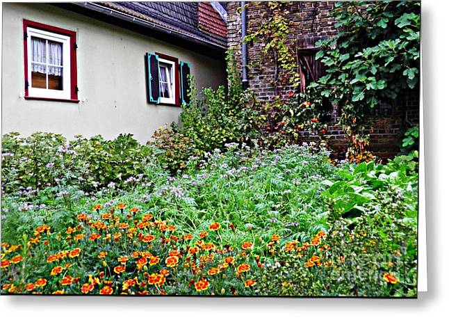 Home And Garden Schierstein 5 Greeting Card by Sarah Loft