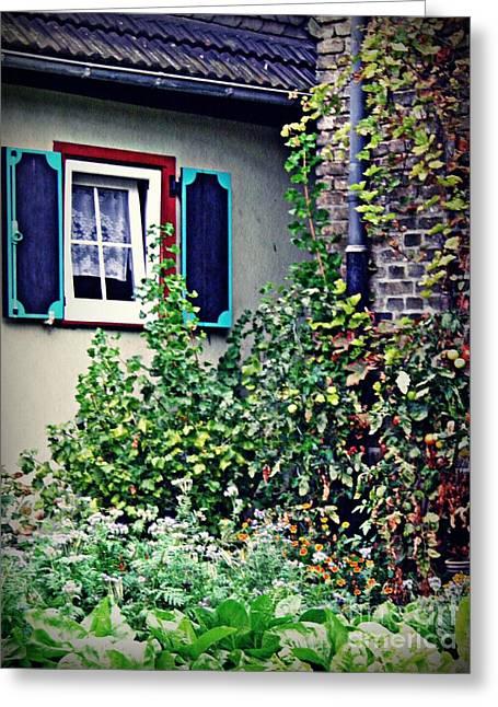 Home And Garden Schierstein 8   Greeting Card by Sarah Loft