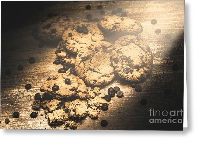 Home Biscuit Baking Greeting Card
