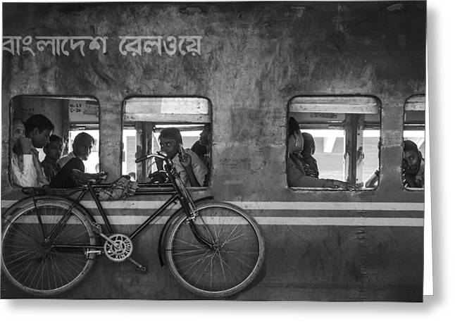 Home Bound Greeting Card by Sifat Hossain