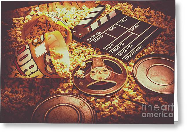 Home Cinema Art Greeting Card by Jorgo Photography - Wall Art Gallery