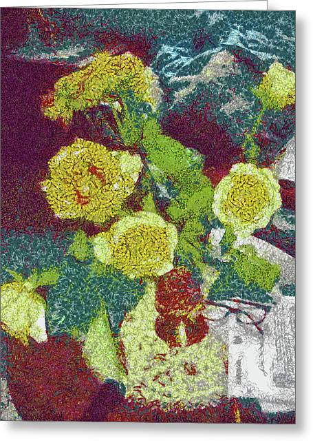Home Flowers Greeting Card