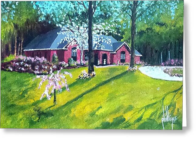 Home In Batesville, Ms Greeting Card