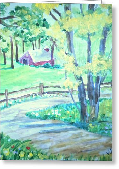 Home In Kansas Greeting Card