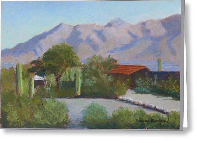 Home In The Catalinas Greeting Card