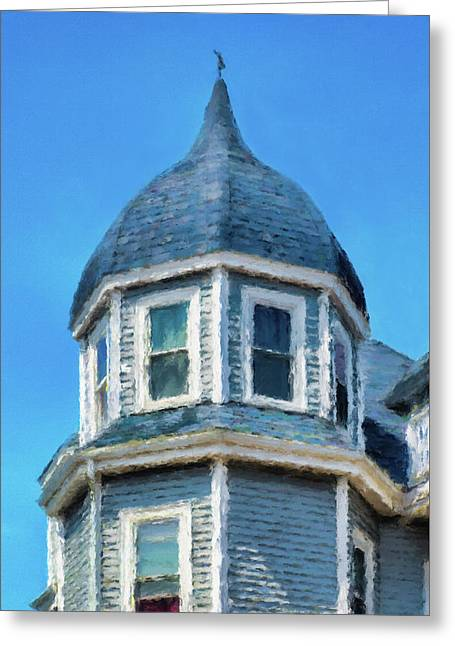 Home In Winthrop By The Sea Greeting Card
