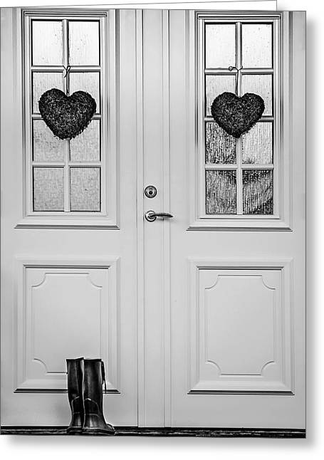 Home Is Where The Heart Is Greeting Card by Maggie Terlecki