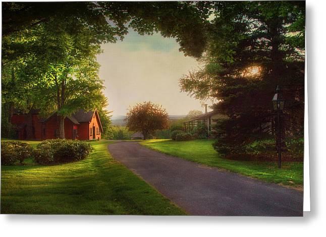 Home Greeting Card by Joann Vitali