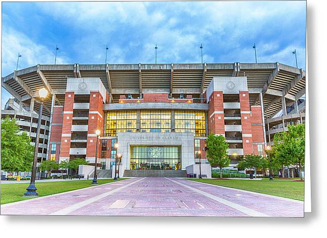 Home Of Champions -- Bryant-denny Stadium Greeting Card