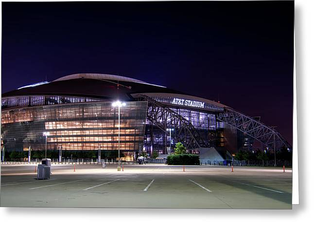 Home Of The Dallas Cowboys Greeting Card by Rwelborn