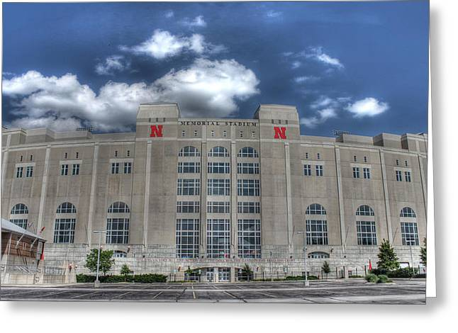 Home Of The Huskers  Greeting Card