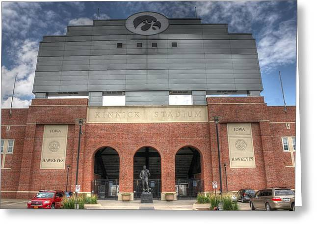 Home Of The Iowa Hawkeyes Greeting Card