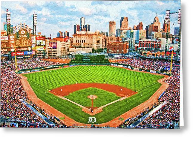 Home Of The Tigers Greeting Card
