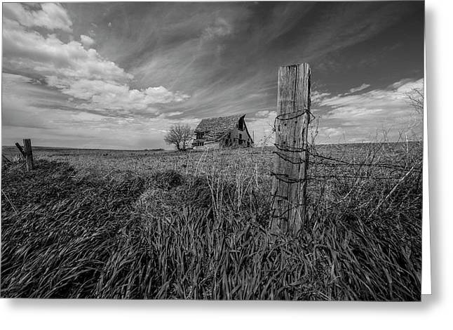 Home On The Range  Greeting Card by Aaron J Groen