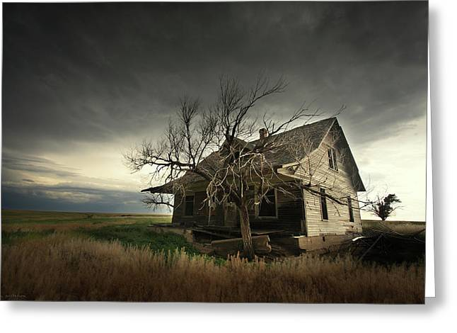 Home On The Range Greeting Card by Brian Gustafson
