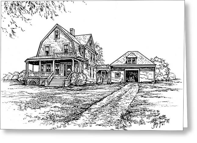 Home Place Greeting Card by Greg Joens